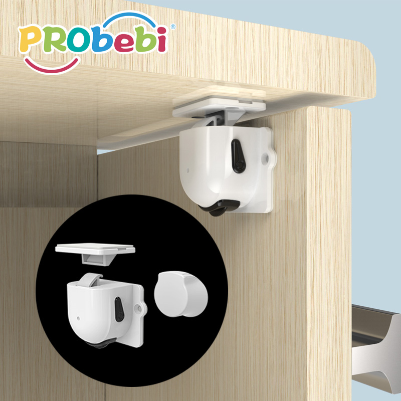 Baby magnetic drawer cabinet lock