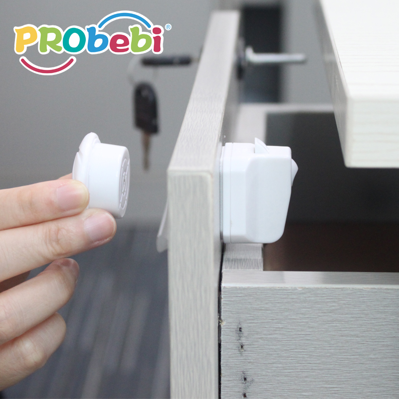 baby care magnetic lock for drawer