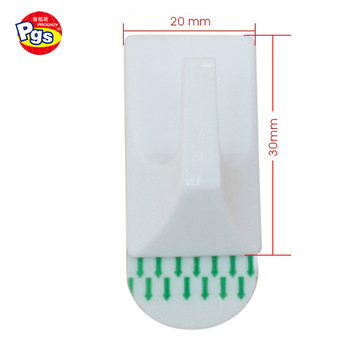 Adhesive Plastic Coat Hook