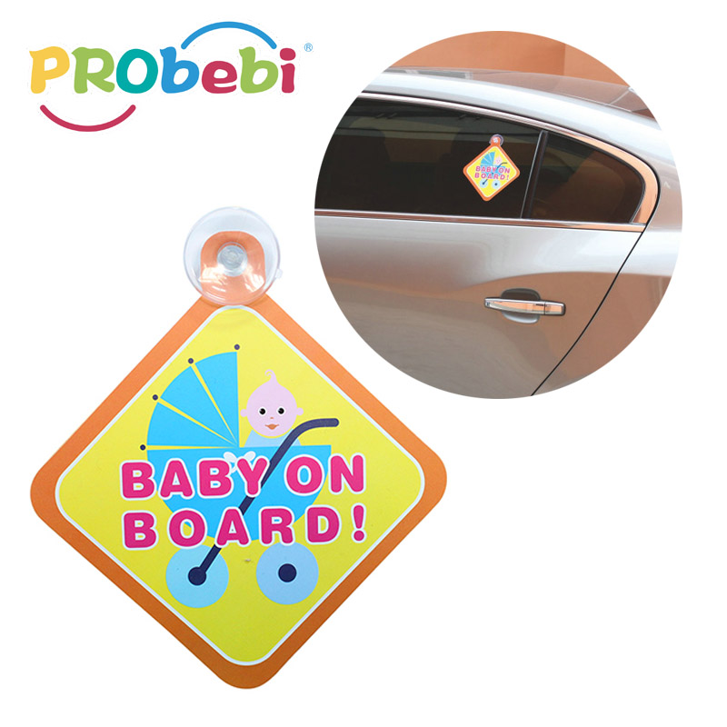 baby safety stuff baby in car sign