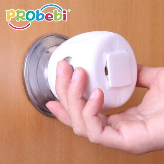 Child proof door knob covers