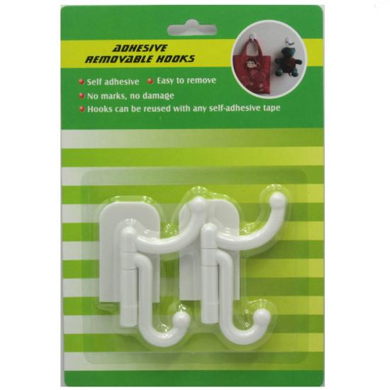 adhesive wall hanger hook