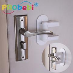 door level handle lock