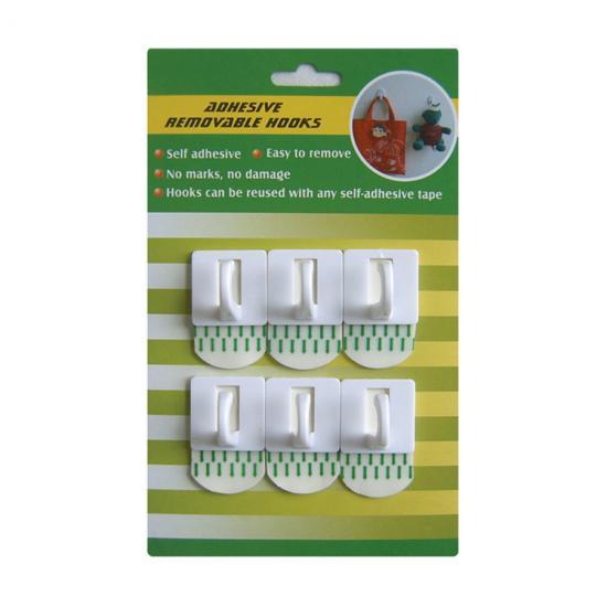 Multipurpose Removable Hooks Self AdhesiveEasy To Remove