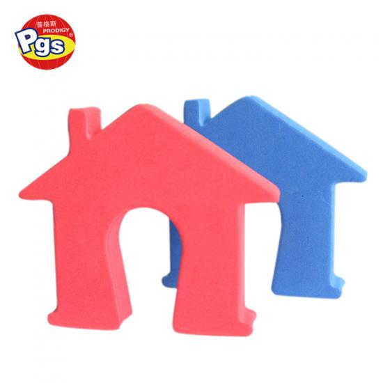 Factory sales directly eva animal shape colourful door stopper