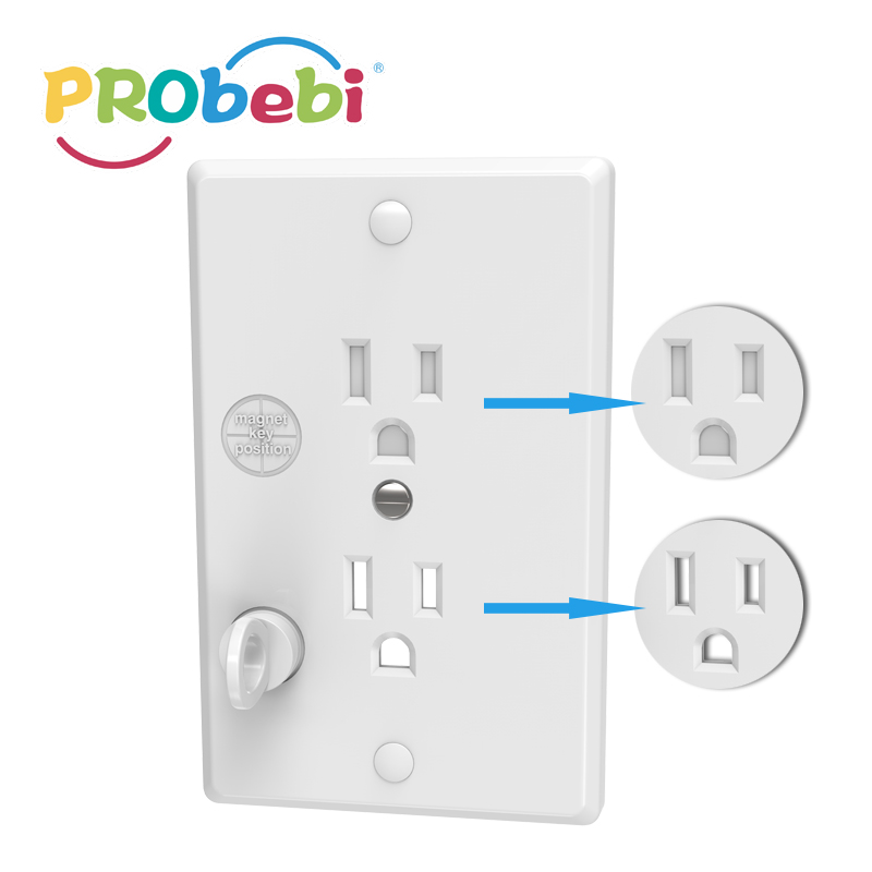 Magnetic Outlet Cover